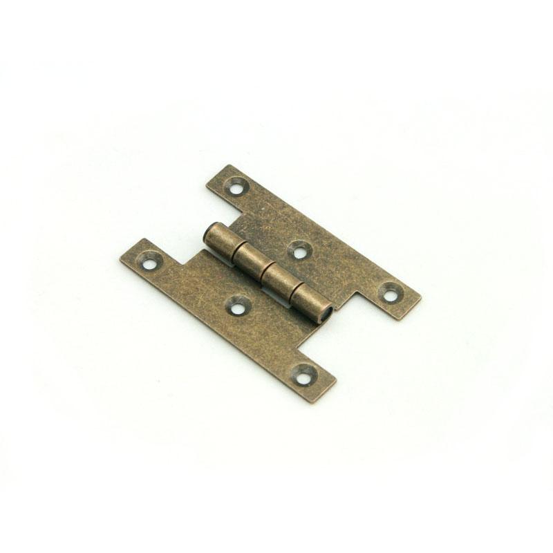 HG002 – 2.16″x1.37″ H Hinge – Antique Vintage Style Hinge Cabinet Door Hinge  Steel Hinge - Antique Vintage Style Hinges