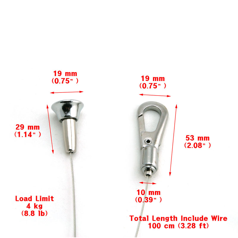 Ceiling Mount Wire Cable Clip Hanger