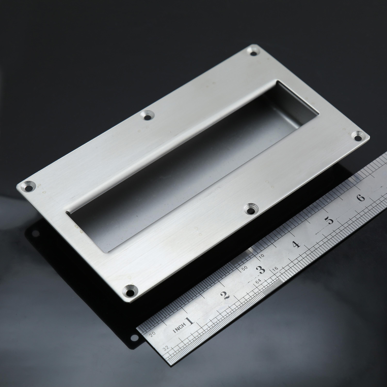 FP020 U2013 Size L U2013 Rectangular Flush Pulls Stainless Steel Sliding Door Handle  Extra Large